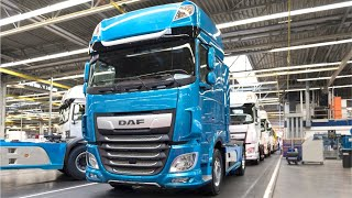 DAF trucks production European truck factory