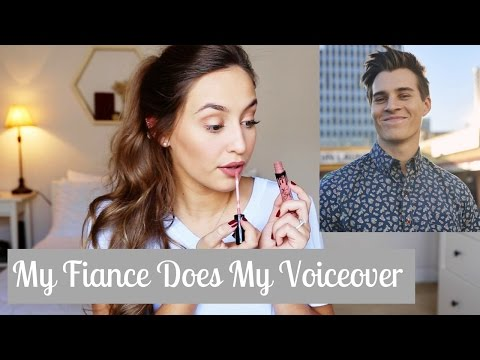 MY FIANCÉ DOES MY VOICEOVER | Kristin Lauria