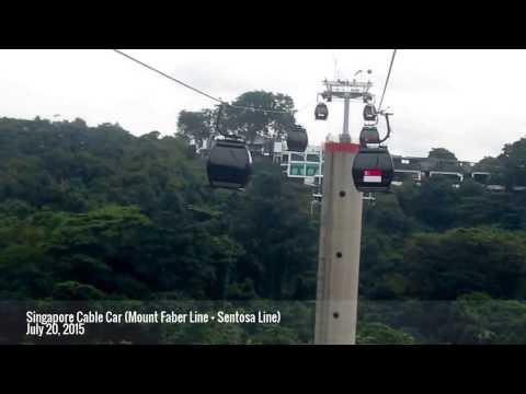 Singapore Cable Car (Mount Faber Line + Sentosa Line) | July 20, 2015