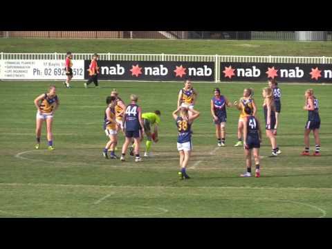 Women's Representative Football AFL SNSW v AFL Canberra