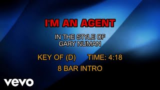 Gary Numan - I'm An Agent (Karaoke)