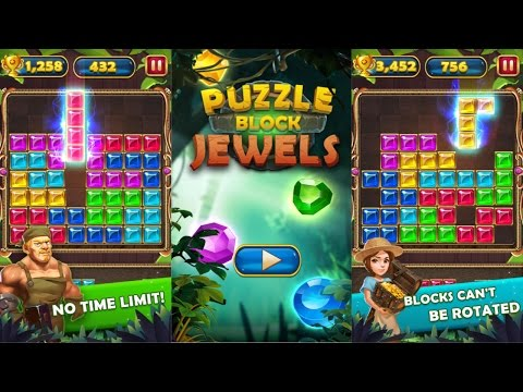 Puzzle Block Jewel Android Gameplay