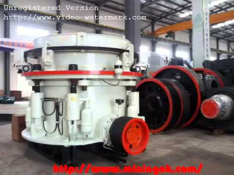 construction stone Hydraulic cone crusher with advanced design in Africa