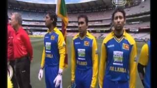 Sri Lankan National Anthem at the MCG (Australia)
