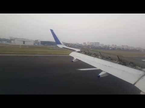 Mumbai Airport Landing | IndiGo Ahmedabad - Bombay Morning Flight