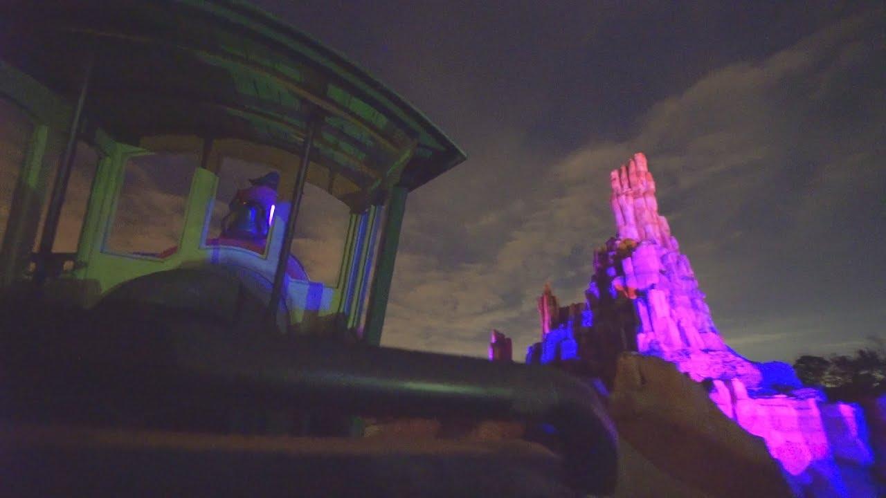 Big Thunder Mountain Railroad (On-Ride Night) Magic Kingdom - Walt Disney World