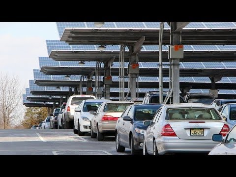 Solar Panels Power Rutgers Campus