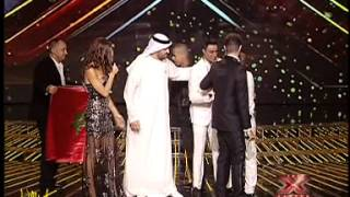 لحظة تتويج محمد الريفي بلقب xfactor arab 2013