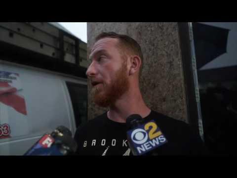 N J  residents recall N Y  suspect as 'friendly'
