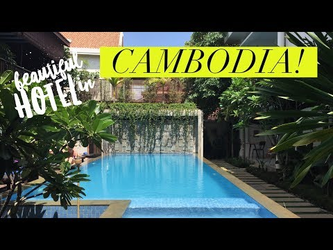 Advaya Residence Hotel - Siem Reap Cambodia!