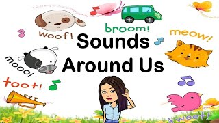 Sounds Around Us | TeacherBethClassTV