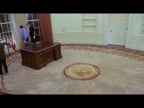 Time Lapse - Oval Office Set Up
