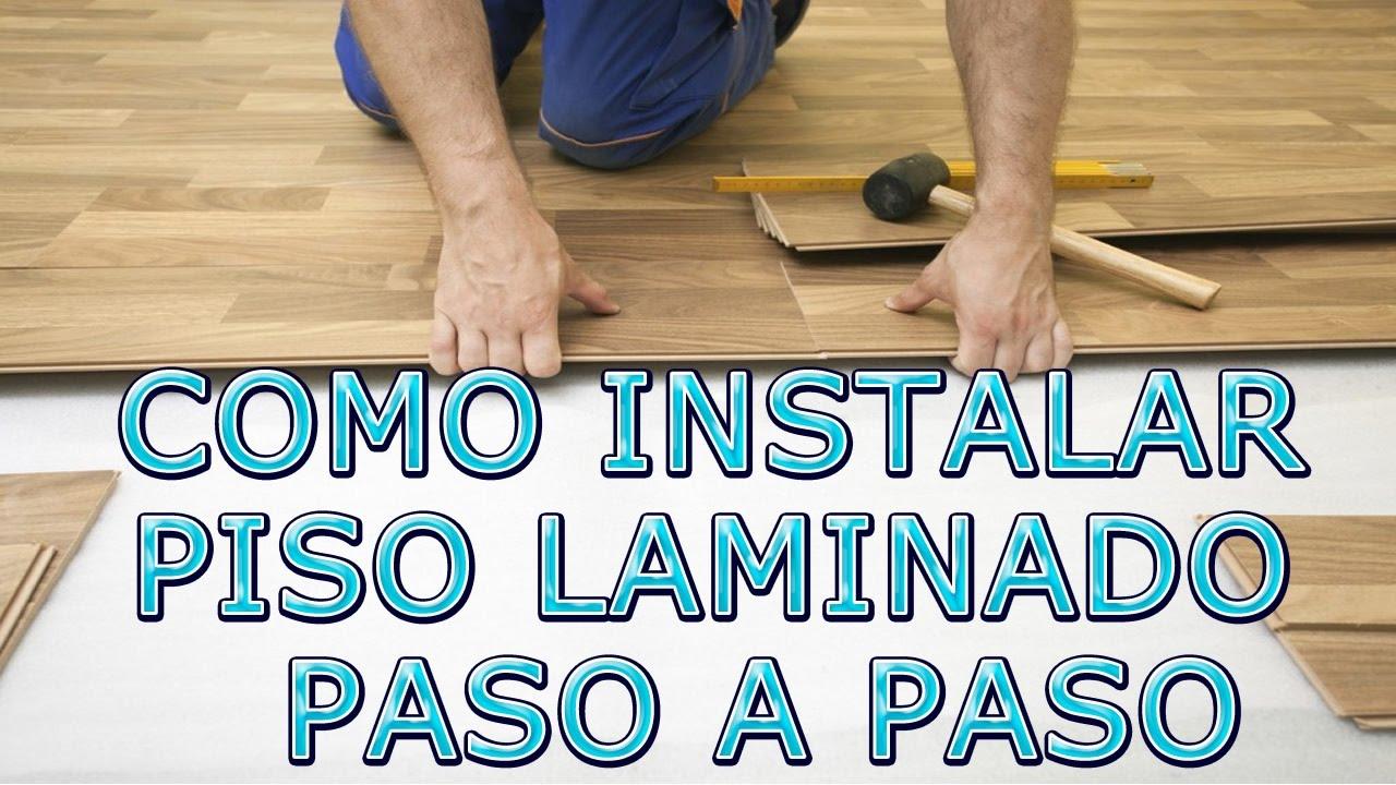 Como instalar piso laminado como colocar piso laminado for Como guardar bicis en un piso