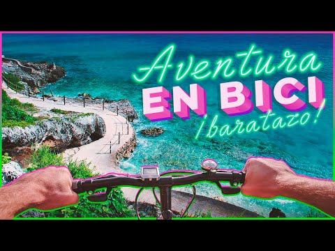 ¡Isla Mujeres en bicicleta! Un amanecer de película 🔥🤩| MPV en México 🇲🇽