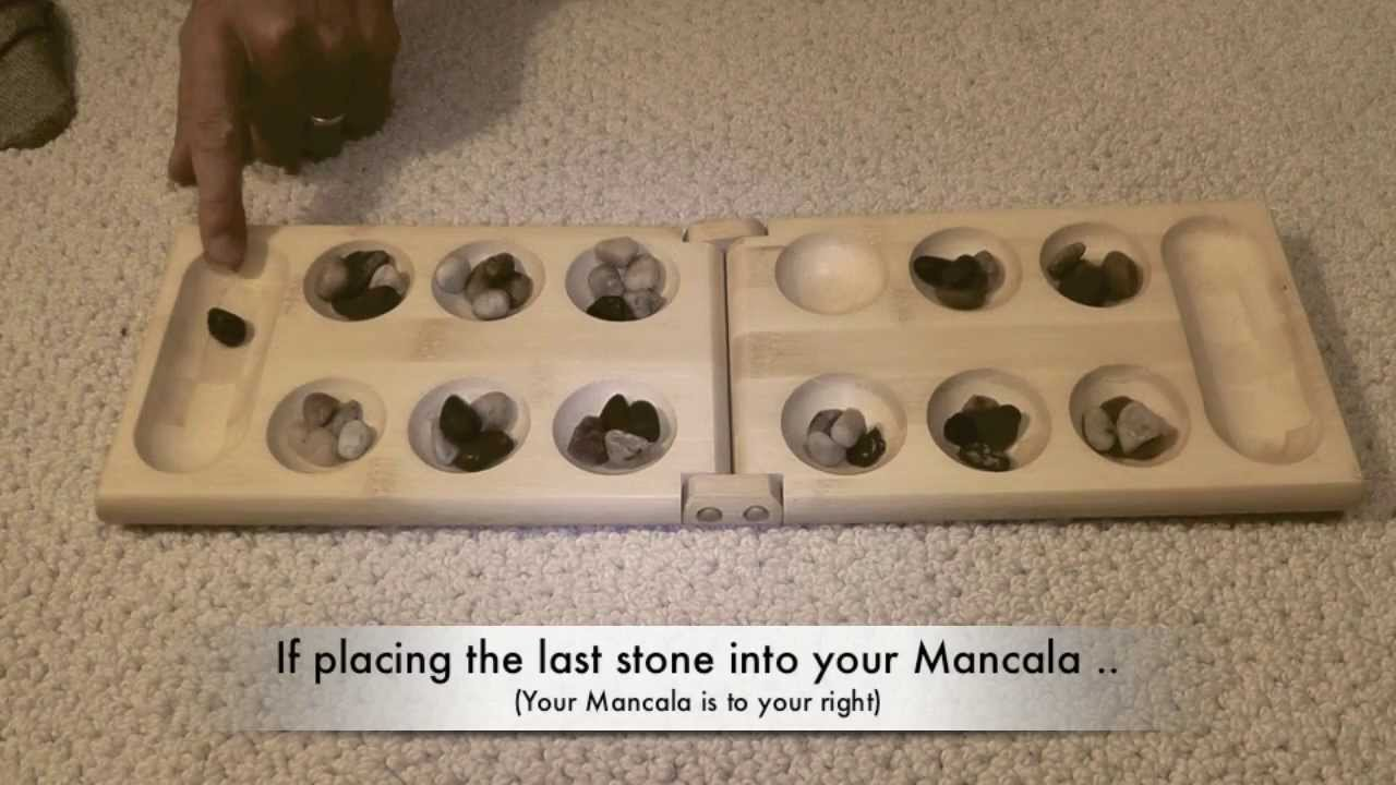 Learning How To Play Mancala Youtube