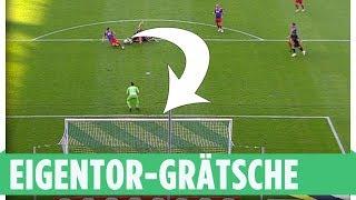 Das erste Grätschen-Eigentor der Geschichte? | KFC Uerdingen – SV Meppen | 3. Liga