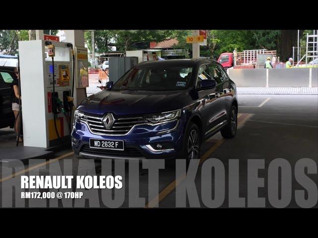 2017 Renault Koleos Full In Depth Review Bobby Ang
