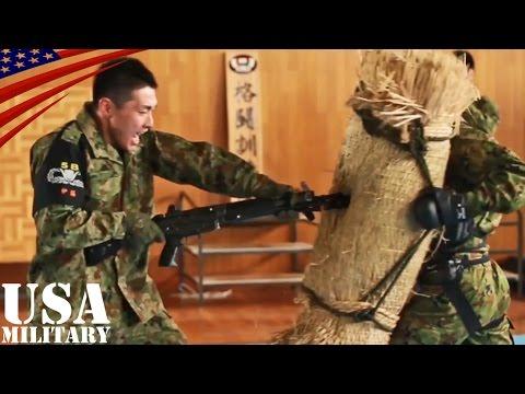 自衛隊格闘術(白兵戦) 銃剣格闘など 第5旅団・格闘訓練隊 - Japanese Soldiers (JGSDF) Hand-to-hand Combat - Rifle Bayonet