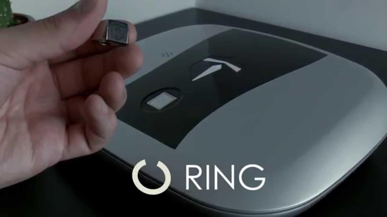 Open The GunBox using a Ring, Wristband, Sticker or Fingerprint