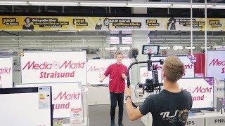 MEDIA MARKT STRALSUND | AUSBILDUNG 2017 | ONE TAKE | BEHIND THE SCENES | MAKING OF | PLANSEQUENZ