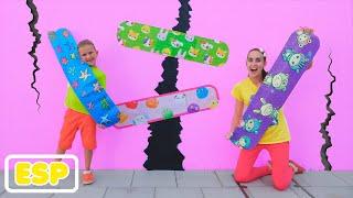 Vlad y Mamá historias divertidas con cinta adhesiva