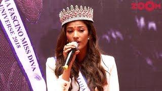 Miss Diva Universe 2018 Nehal Chudasama's Inspiring Message For Kids At Her School