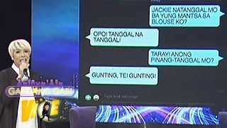 "Vice shares funny ""Yaya"" text messages"
