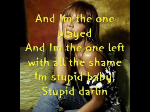 Toni Braxton - Stupid lyrics