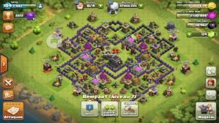 Comment vaincre un château de clan en gdc clash of clans