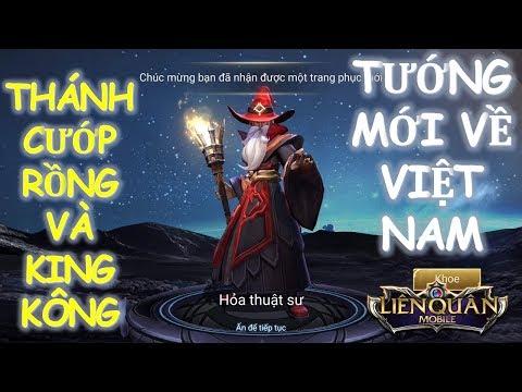 Tướng mới ra mắt Việt Nam IGNIS Hỏa thuật sư - Cướp Rồng và Kinh kông cực tốt[ Mua và Test luôn]