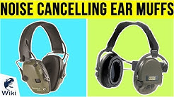 8 Best Noise Cancelling Ear Muffs 2019