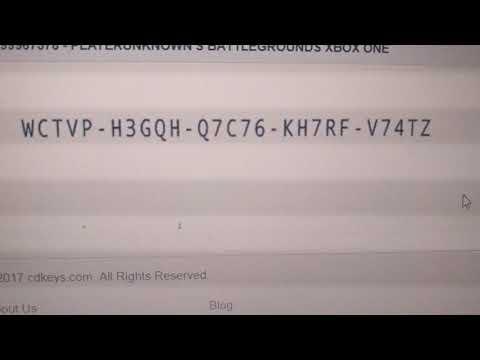 Pubg Xbox One Code Youtube