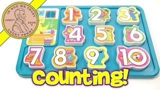 Sesame Street Talking Big Bird Numbers Puzzle