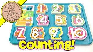 Sesame Street Talking Big Bird Numbers Puzzle