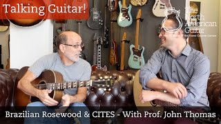 Talking Guitar - Brazilian Rosewood and CITES - With Prof. John Thomas