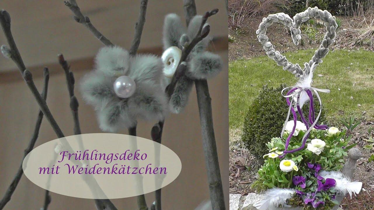 DIY   Frühlingsdeko Selber Machen | Ideen Mit Weidenkätzchen   YouTube