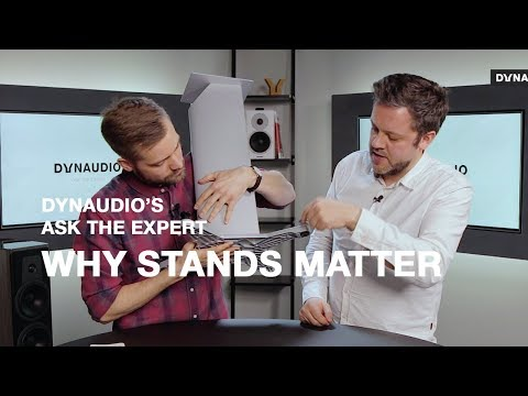 Understanding loudspeaker stands and why they make a world of difference