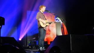 Ed Sheeran - Everything you are / Kiss me / Have I told you lately.. (Lyon 22.11)