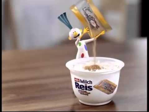 Werbung Müller Milchreis