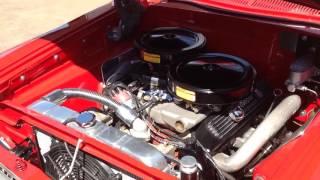 1963 Plymouth Fury 426 Max Wedge Running
