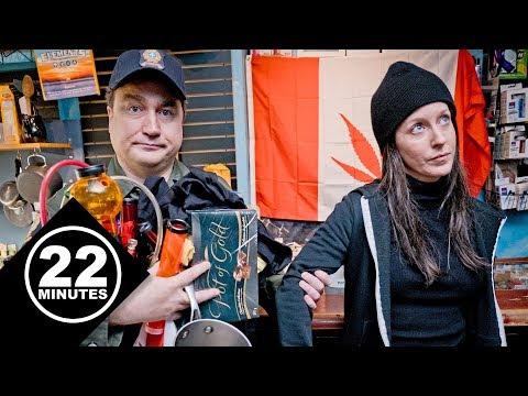 Quebec cannabis crackdown | 22 Minutes
