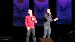 Jose & Wally with Ryzza Mae at EAT BULAGA LIVE in Toronto (April 12, 2014)