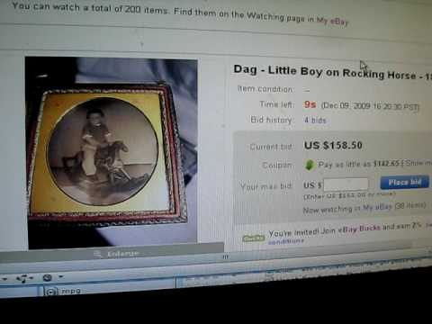 Buying antique images on ebay