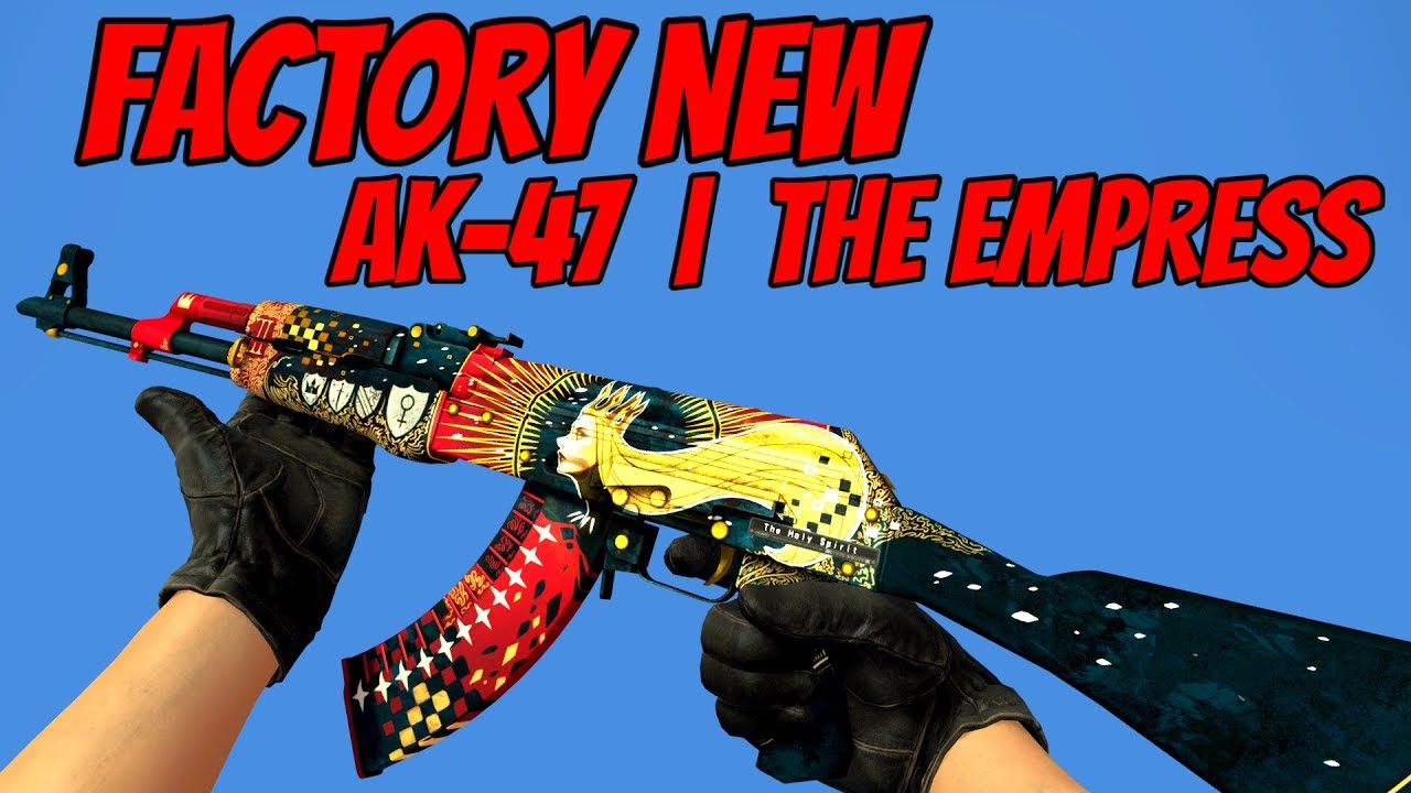Cs Go Ak 47 The Empress Factory New Skin Showcase Youtube