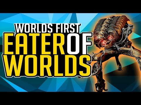 Destiny 2 LEVIATHAN EATER OF WORLDS RAID LAIR - Worlds First Attempt !sponor