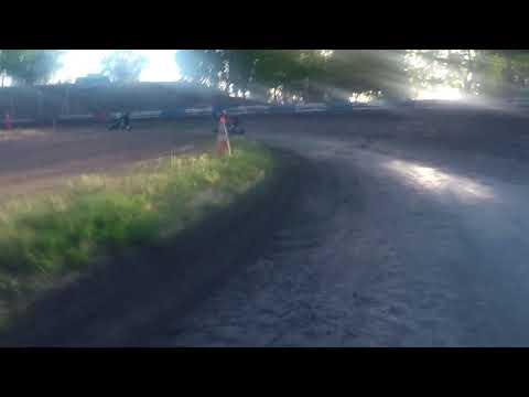Plaza Park Raceway 4/28/18 Jr Sprint Hot Laps GoPro