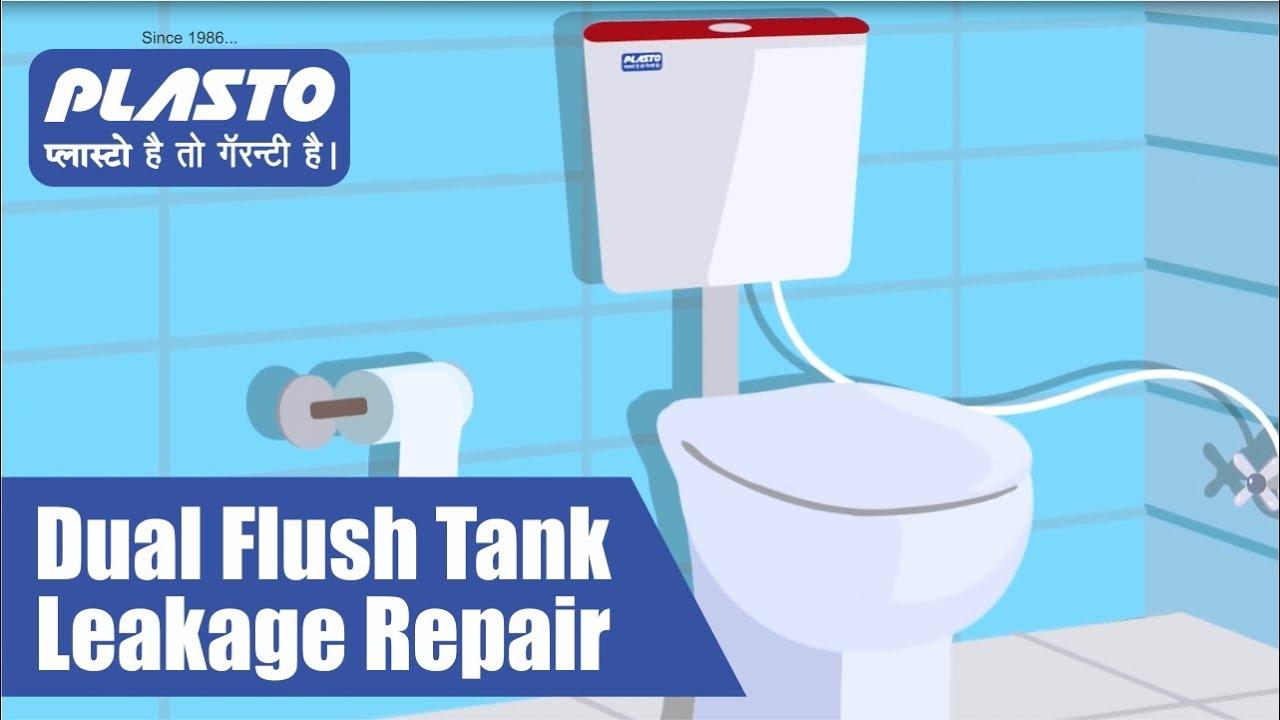 Dual Flush Tank Leakage Repair | फ्लश टैंक का लीकेज कैसे ठीक करें ? | Plasto #LeakageRepair