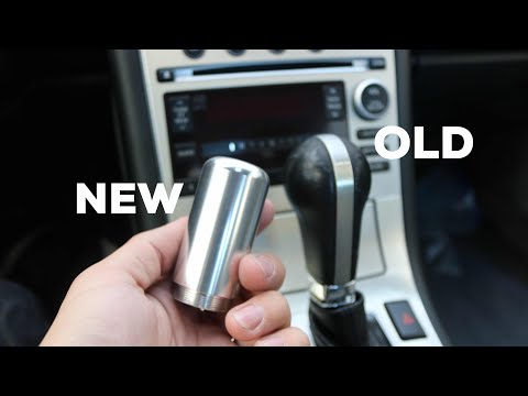 HOW TO - REPLACE YOUR AUTOMATIC SHIFT KNOB