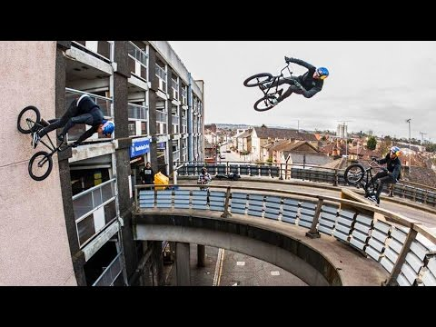 Sebastian Keep Redefines BMX with MASSIVE Bridge Gaps-To-Wallrides | Walls