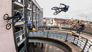 Repeat youtube video Sebastian Keep Redefines BMX with MASSIVE Bridge Gaps-To-Wallrides | Walls